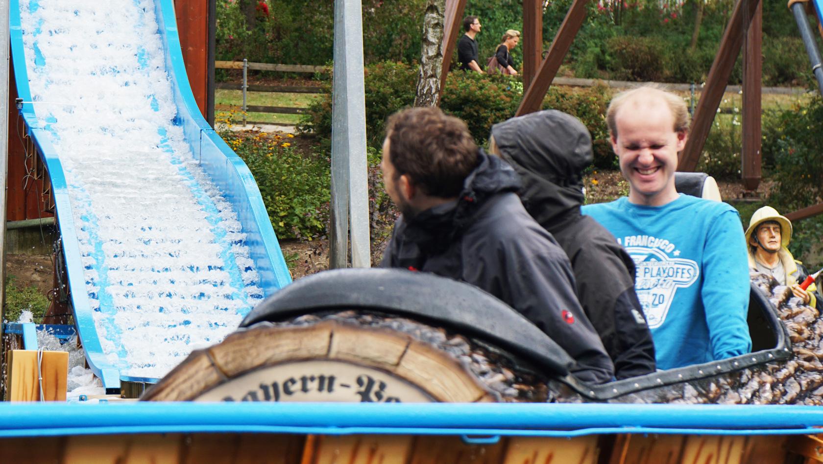 On Ride Bild Wildwasserbahn Bayern Park (Bild Copyright Parkerlebnis.de)
