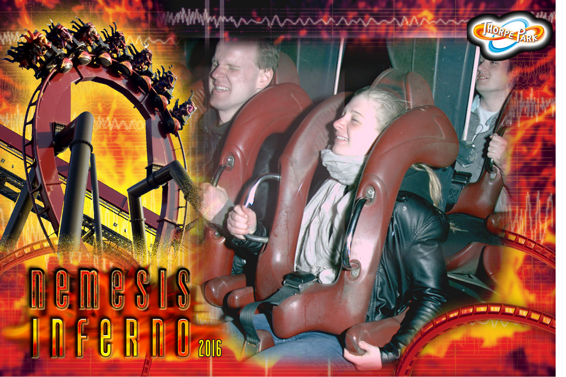 Onride-Foto | Bild © by Christian Ohrens, Recorded by Thorpe Park/Picsolve